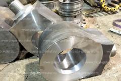 Изготовление проушин и задних крышек  гидроцилиндров карьерных экскаваторов