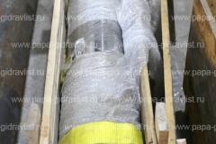 Восстановленный шток передней пневмогидроподвески карьерного автосамосвала готов к отгрузке Клиенту