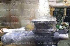 Передняя пневмогидроподвеска карьерного автосамосвала, после ремонта, готова к отгрузке Клиенту